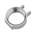 Boîtier de pompe forgé en aluminium de service OEM avec pièces d'usinage CNC de précision