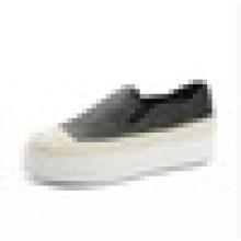 Europeu couro loafers palha esponja corda com sapatos mais leves o pescador sapatos sapatos casuais