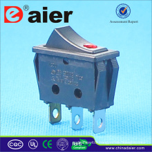 16A 250V T125 R11 Rocker Switch With Lamp