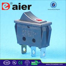 Interruptor de balancim de 16A 250V T125 R11 com lâmpada