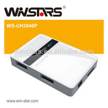 Superspeed 5Gbps Nouveau 4 ports USB 3.0 HUB, Plug-n-Play, remplaçable à chaud
