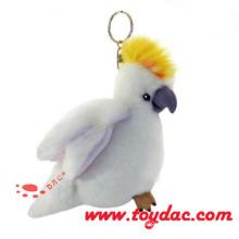 Luxur Plüsch Papagei Schlüsselanhänger