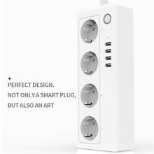 Chaoran Alexa Smart Home Echo WiFi Prises et Prises Électriques Multi Norme UE