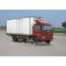 Dongfeng 8-12ton refrigerated cold room van truck in Zimbabwe