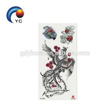 Les tatouages superbes de tatouage de beaux animaux conçoivent le tatouage provisoire de corps imperméable