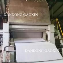 Machine de fabrication de papier de soie en croissant