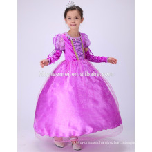 Party wear Sophia princess dress cosplay princess frock design dress for ba8by girl