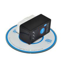 Elm327 Bluetooth com poder interruptor botão OBD2 pode transportar o Scanner