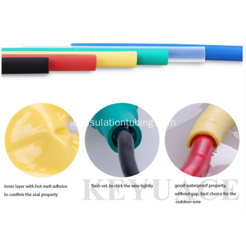 Adhesive Heat Shrink Tube dengan Lem