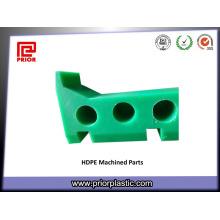 Partie de usinage en plastique de PE avec la résistance de basse température