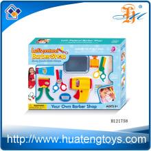 2014 Neues Einzelteil Plastikkinder spielen Schönheitssatz, behaupten Friseursalon-Schönheitssatzspielwaren für Verkauf