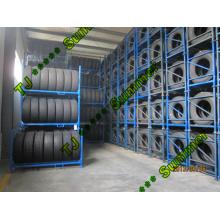 Cremalheira comercial do pneu do armazém da exposição do armazenamento do caminhão