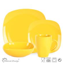 Modern Design Square Shape Ceramic Dinnerware Set
