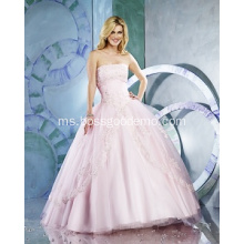 Elegant Dramatic Two colors A-line Sweetheart neckline