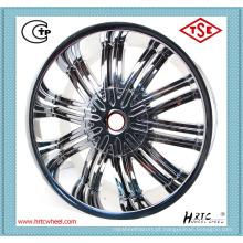 Mais recente design durável preço competitivo rodas de liga leve de 15 polegadas cromo 4X100