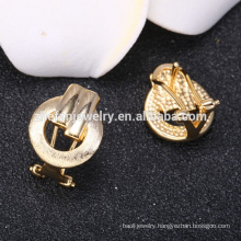 gold jewelry 14k gold plated earring stub costume jewelry