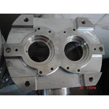 Alojamento da caixa de engrenagens da liga de aço com fazer à máquina do CNC
