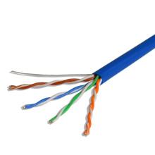 UTP Cat5e LSZH Twisted Pair Cable para LAN de banda larga Internet