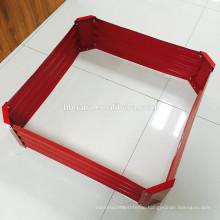 metal planter/galvanized steel garden bed/Metal/Tin/Box/Square/Flower