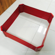 plantador de metal / cama do jardim de aço galvanizado / Metal / Estanho / Caixa / Quadrado / Flor