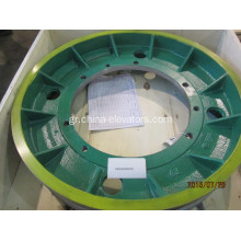 KM160049H02 KONE MX18 Traction Sheave D750