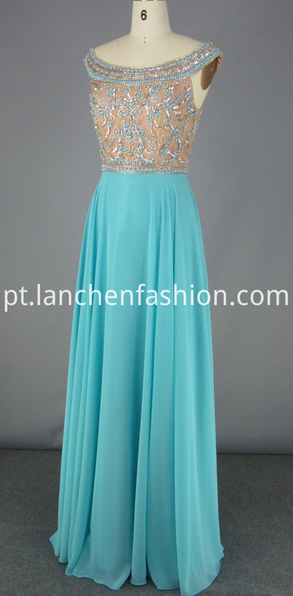 bridesmaid dress long chiffon