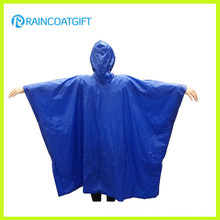 Blue Adult PVC Waterproof Poncho Rvc-186