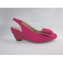 2016 New Design Ladies Chunk Sandals (HCY03-093)