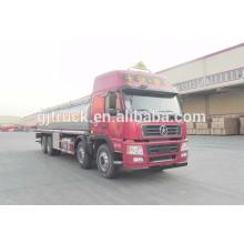 Dayun 8X4 drive camión de combustible para 20-35 metros cúbicos