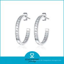 Best Selling Hoop Ohrringe Silber 925 (SH-E0078)