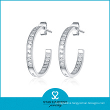 Best Selling Hoop Earrings Silver 925 (SH-E0078)