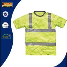 Hi-Vis Camiseta de seguridad amarilla
