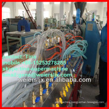 ce certification wpc profile extruder machine plastic
