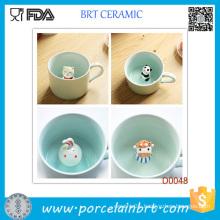 Bestselling Elegant Porcelain Mug with Little Animal