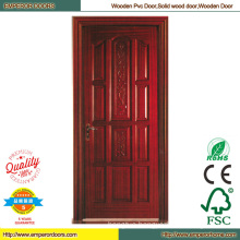 China Solid Wood Door French Door Interior Paint Door