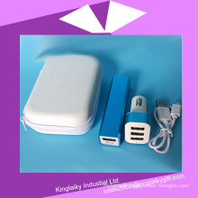 2016 Customized Promotional Gift Power Bank with Bag (KPB-001)