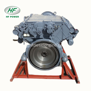 Deutz 8-Cylinder Air-Cooled F8L413F Mesin Diesel 4-Tak
