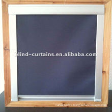 Beautiful black-out fabric skylight blind