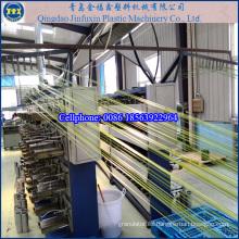 Línea de máquina de extrusión de tapete de hierba artificial de plástico