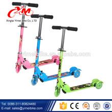 Top-Qualität 2-Rad-Handbremse Kinder Kick Roller / Push Top Pro Kinderroller neues Modell / 2017 Taschenlampe Roller Kindersitz