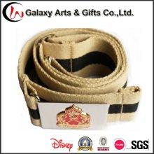Vestuário de segurança acessórios de cintura de Man′s Webbing militar algodão cinto de Metal com fivela de cinto