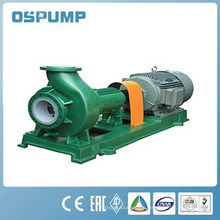 IHF100-80-125 single-stage single-suction horizontal rubber fluorine chemical corrosion-resistant centrifugal pump