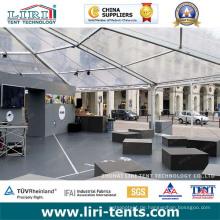 Wasserdichte Großhandelsquadrat-Hochzeits-Zelte mit freien PVC-Seitenwänden