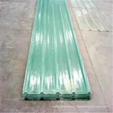 Anti folha UV do telhado para a folha transparente da fibra de vidro da casa