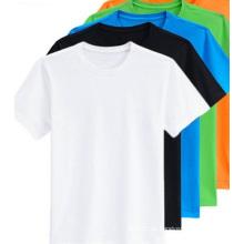 Soem-Qualitäts-Mann-Oberseiten-Schwarz-Mann-Kurzschluss-T-Stücke Männer T-Shirt