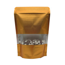 With Resealable Zipper/ Seed Packaging Bag Stand up Flax Seed Plastic Food Package Snack LDPE Gravure Printing Disposable Accept