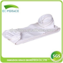 PTFE fiber cloth dust filter bag for air treatment