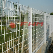 Galvnaized Decorative BRC Pagar dari Wire Mesh Dilas