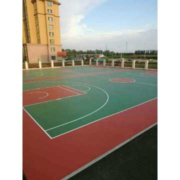 Anti-Vergilbungs-3: 1-Belagsmaterialien Courts Sports Surface Flooring Athletic Running Track