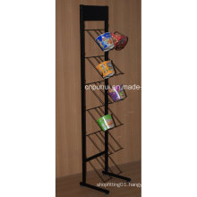 Metal Floor Standing Biscuits Display Stand (PHY1066F)